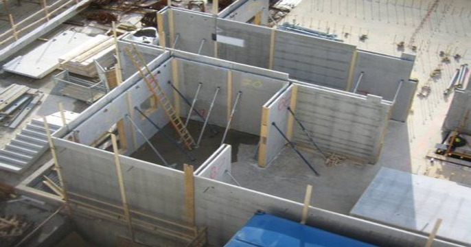 Precast Wall Details : Flood precast adaptable twin walls and solid wall system