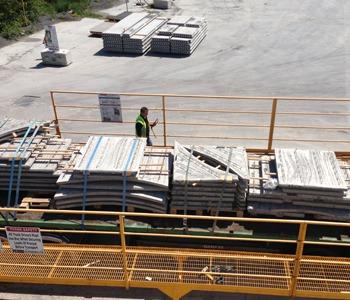 Flood Precast Omnia Flooring Slabs at the Heineken Brewery