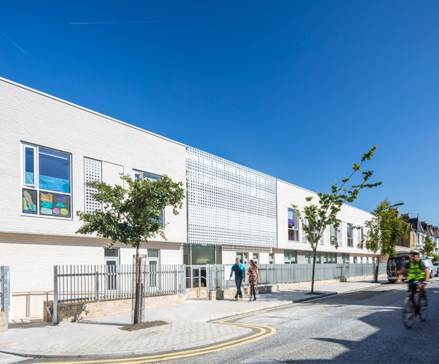 Flood Precast Concrete Flooring at Horizon School, Hackney