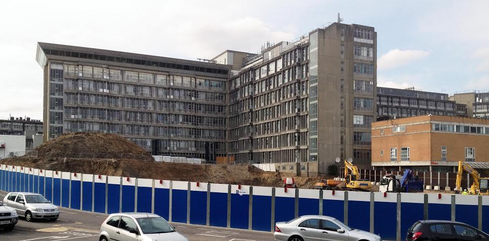 Flood Precast Wide Slab Flooring Solves Design Problem at Northwick Park Hospital