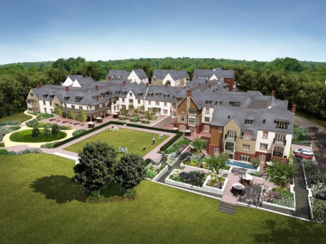 Precast Hollowcore, Flooring for a Luxurious Retirement Village in Oxfordshire