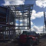 Precast concrete hollow core planks