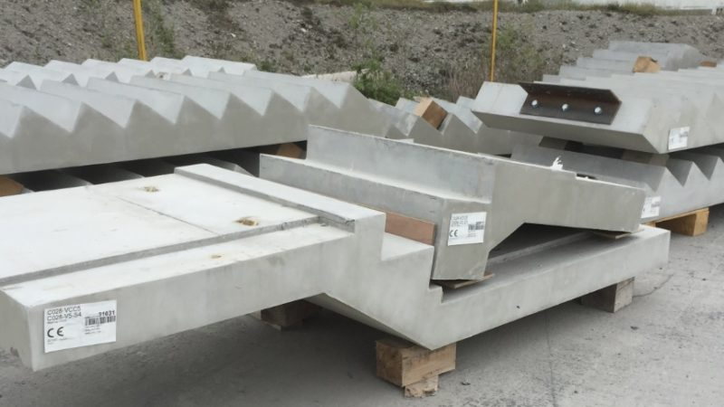 Precast concrete stairs provide a durable & attractive produc