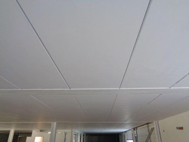 Exposed concrete Soffit Finish