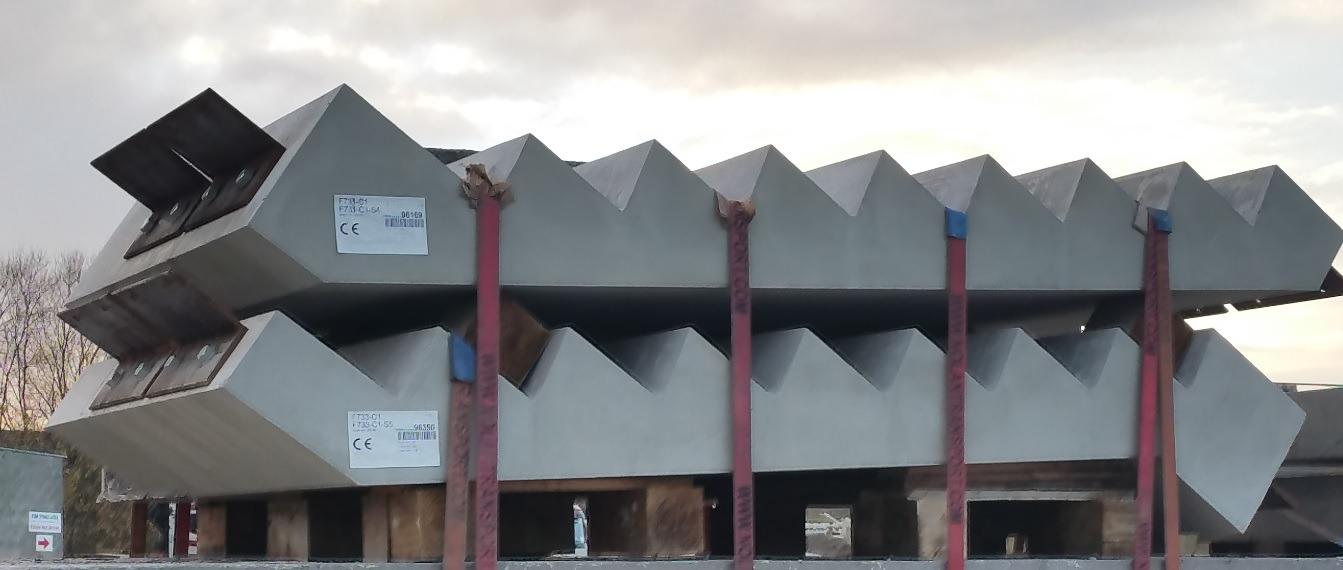 precast concrete staircores