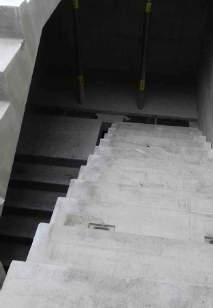 exo building -precast stairs